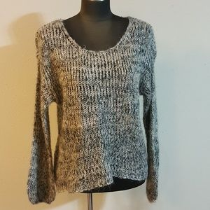 GB Gianni Bini Multi Color Crochet Sweater
